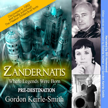 Zandernatis - Pre-destination - Audio Book | Genesis Antarctica