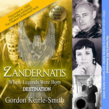 Zandernatis - Destination - Audio Book | Genesis Antarctica